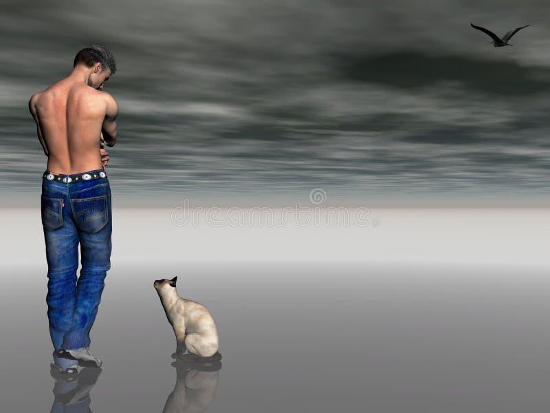 одиночество убийцы бесплатная иллюстрация