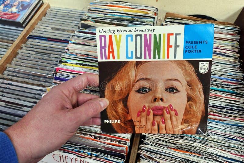 Одиночный показатель: Рэй Conniff - портер Cole настоящих моментов стоковое фото rf