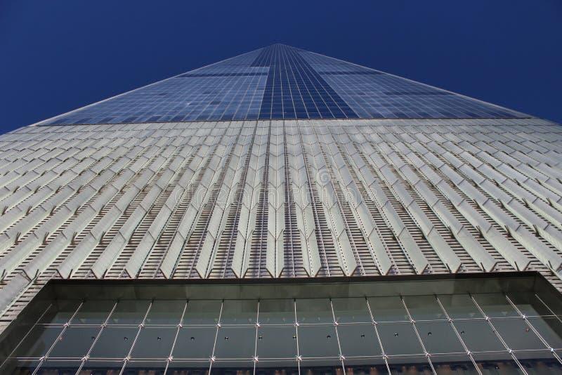 Один всемирный торговый центр, Манхаттан Нью-Йорк стоковые изображения rf