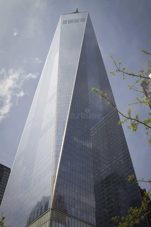 Один торговый центр Нью-Йорк стоковые фото