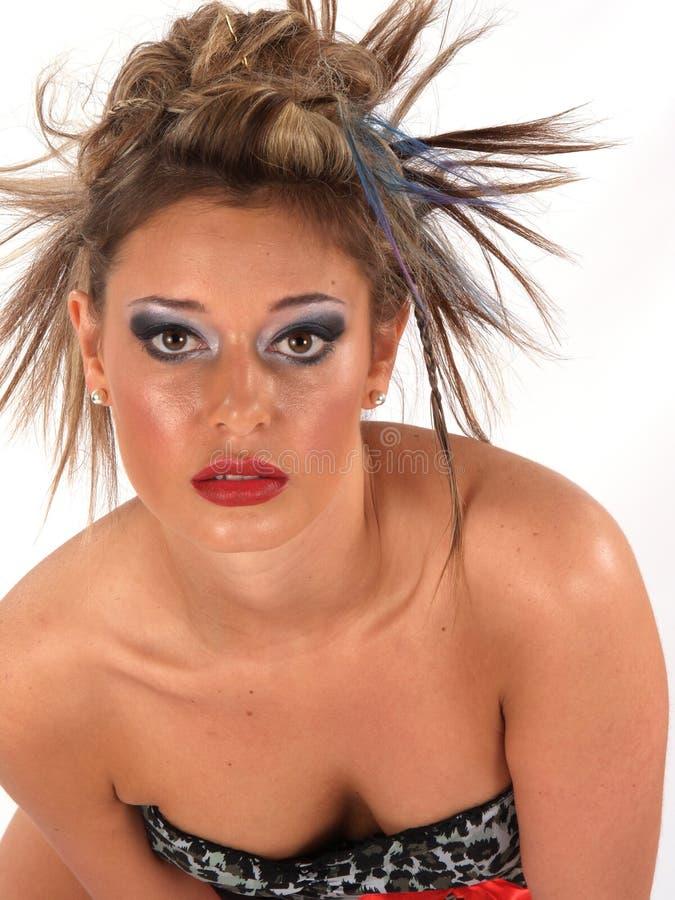 одичалое волос модельное стоковое изображение rf