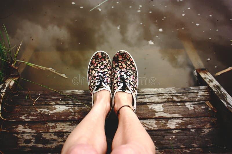 Одичалые свободные ноги стоковое фото rf