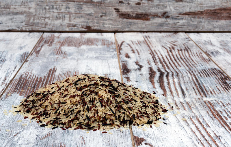 Одичалый рис Стоковое Изображение