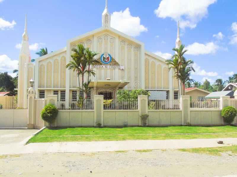 Одна из церков Ni Cristo Iglesia в Santo Tomas стоковая фотография rf