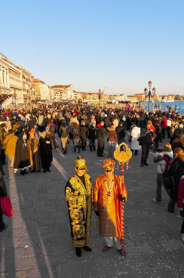 однолетняя масленица Италия выполнила venice стоковая фотография rf