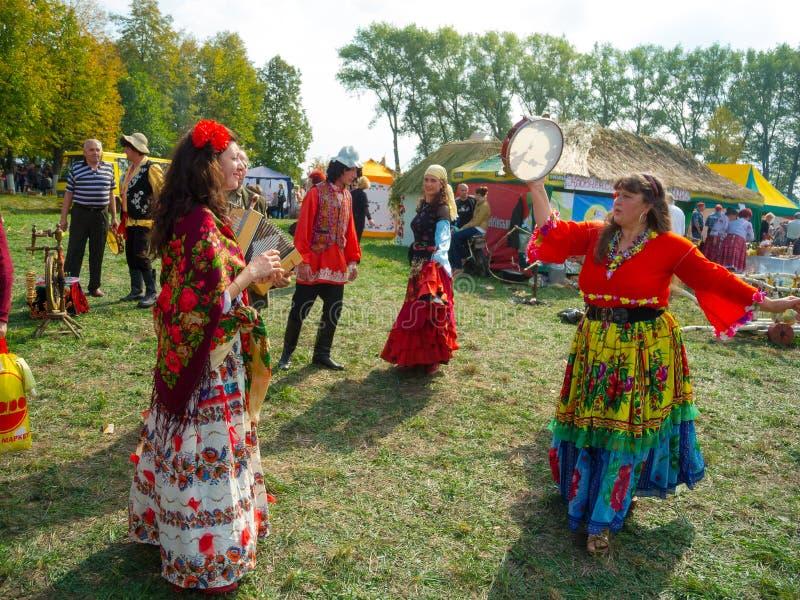 Однолетняя agro выставка SUMY-2012 стоковые фото