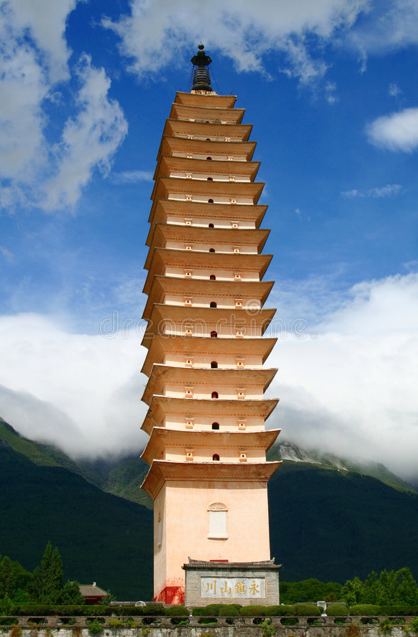 одно pagodas 3 стоковые фото