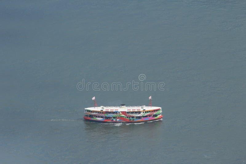 12-ое июля 2014, паром звезды на гавани Виктория стоковые изображения