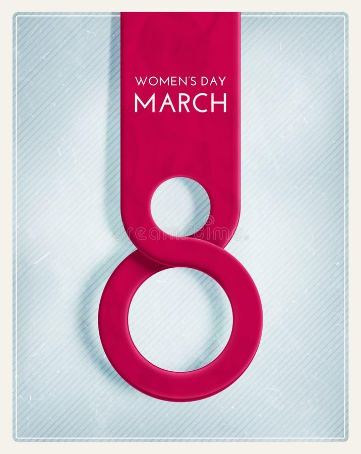 8-ое марта бесплатная иллюстрация