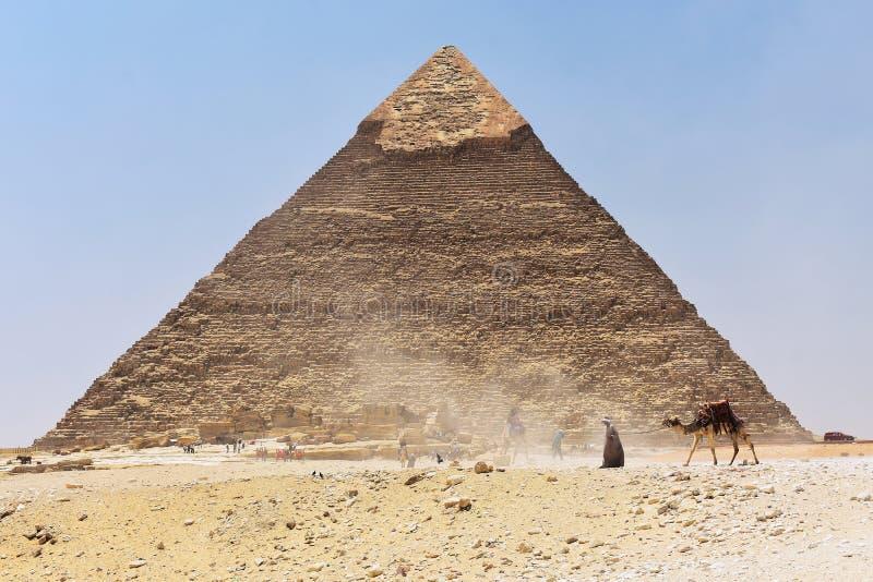 6-ое мая 2019 Пирамида Гизы, Каира, Египта стоковое изображение