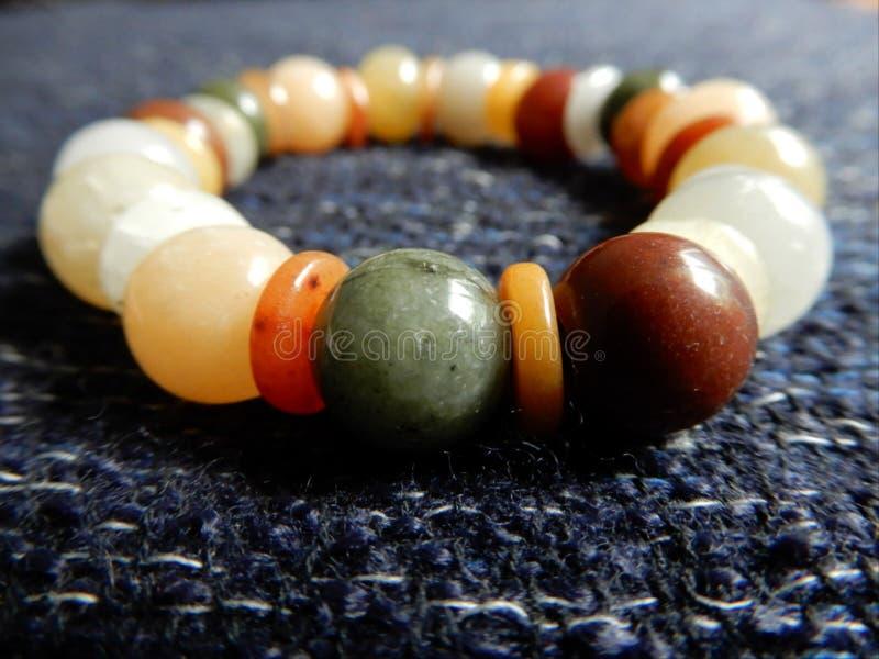 Ожерелье камня шикарное стоковое фото rf