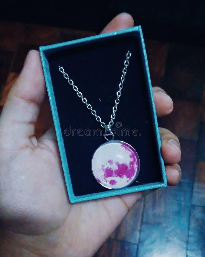 Ожерелье луны стоковое фото