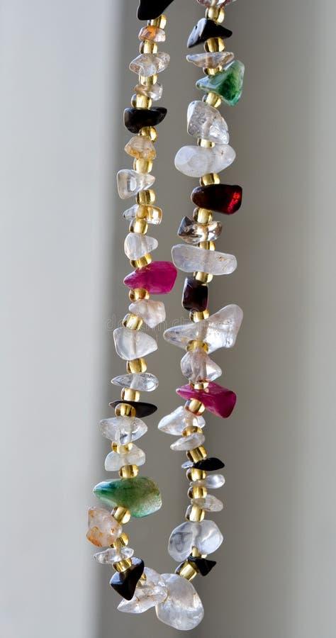 ожерелье самоцветов драгоценное стоковое фото rf