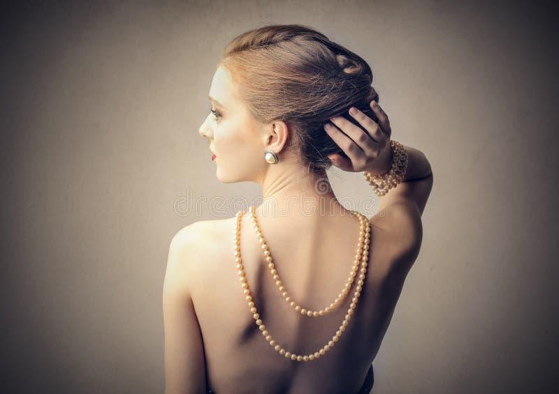 Ожерелье жемчугов стоковое изображение
