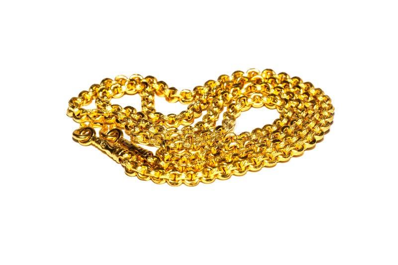Ожерелье золота стоковые изображения