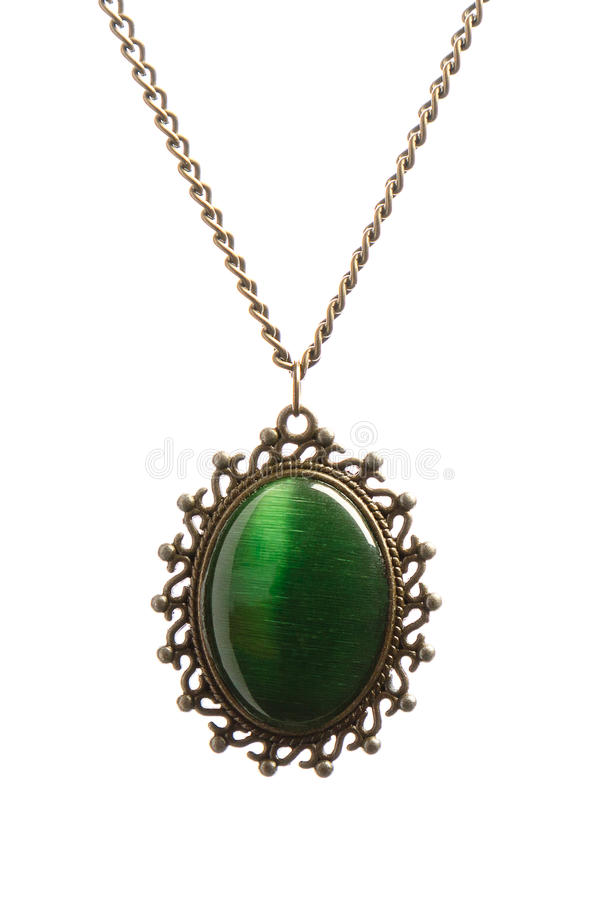 Ожерелье с шкентелем стоковая фотография rf