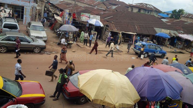 оживленная улица стоковая фотография