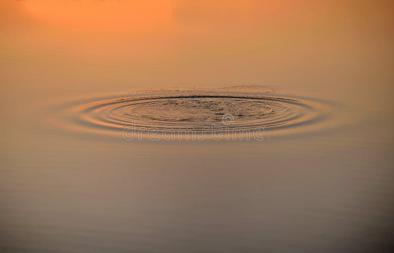 Оживленные волны на воде стоковое фото rf