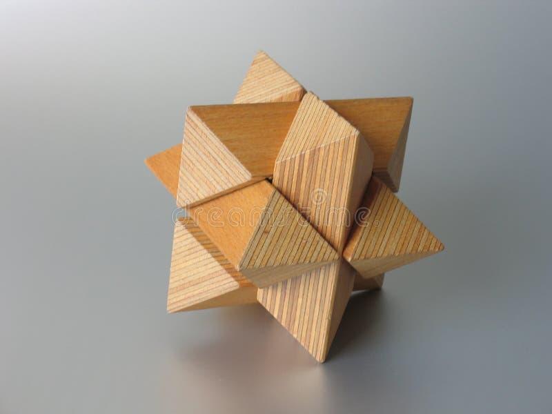 озадачьте деревянное Стоковое фото RF