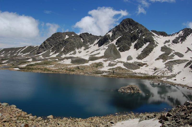 Озера большая возвышенность Кашмира стоковые изображения