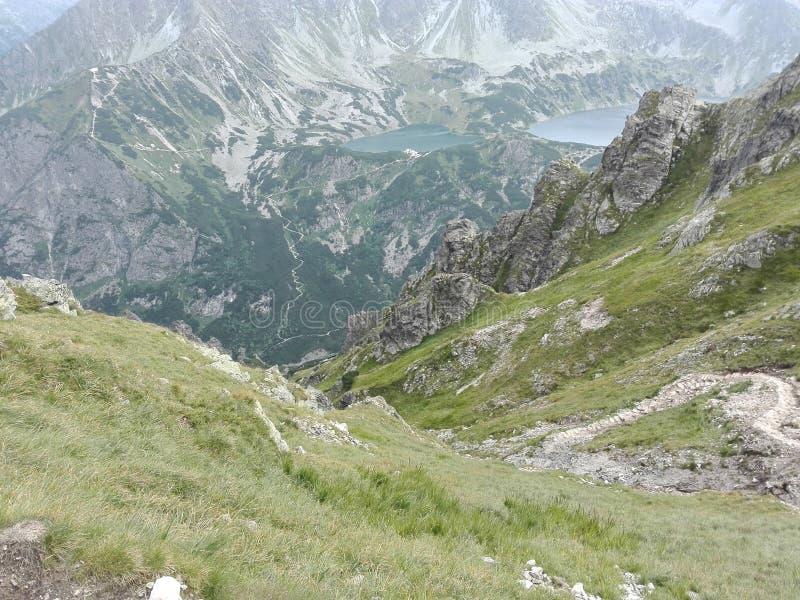 Озера в mountines стоковые изображения rf