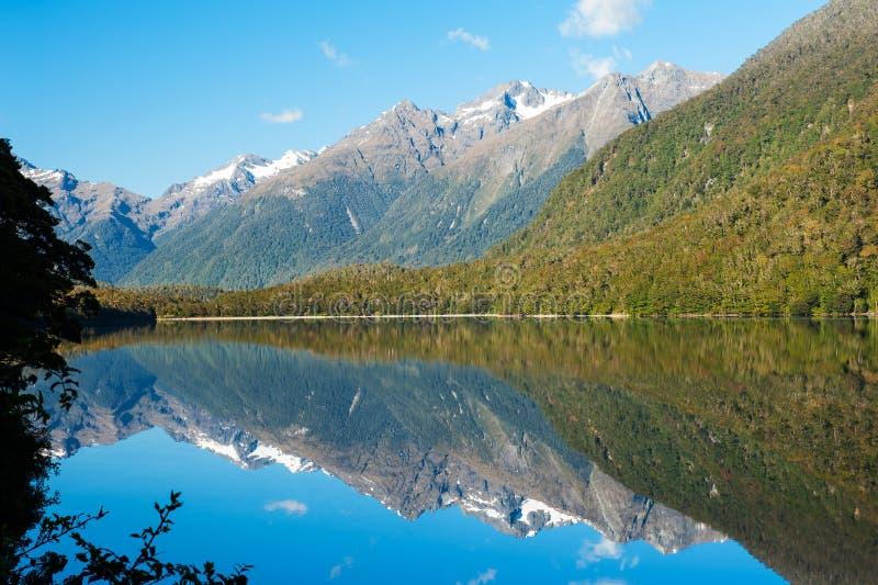 Озера зеркал стоковое фото rf