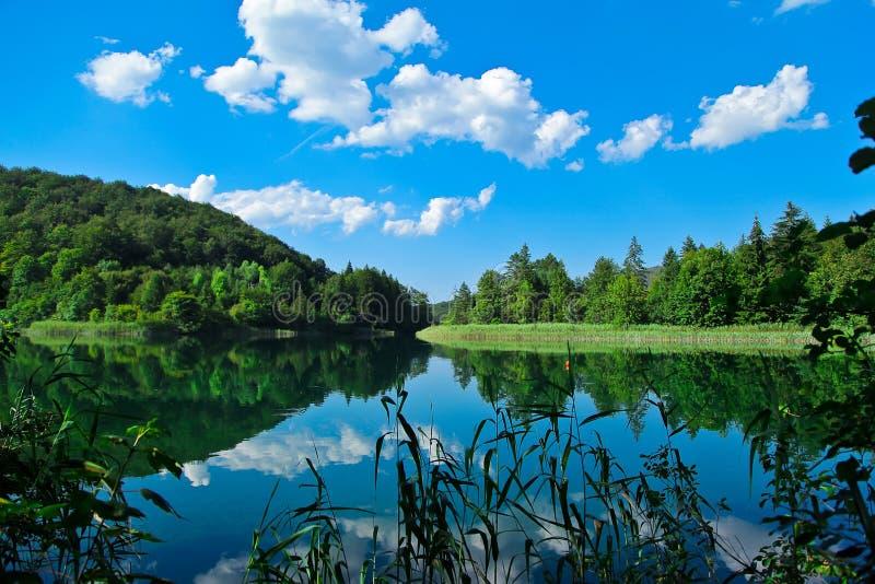 озера наследия Хорватии перечисляют мир unesco plitvice национального парка стоковые фотографии rf