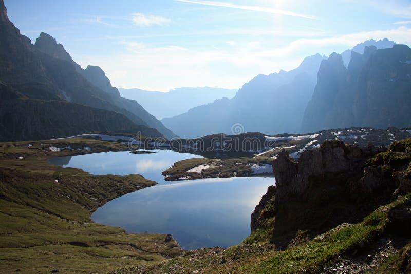 Озера планов стоковое фото