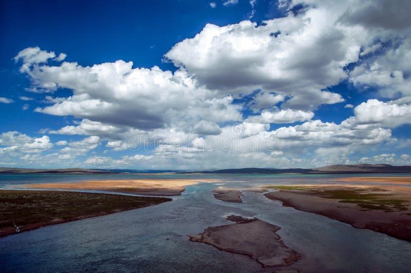 Озера плато стоковая фотография