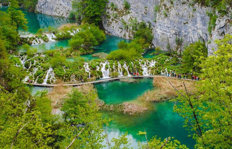 Озера Plitvice стоковые фото