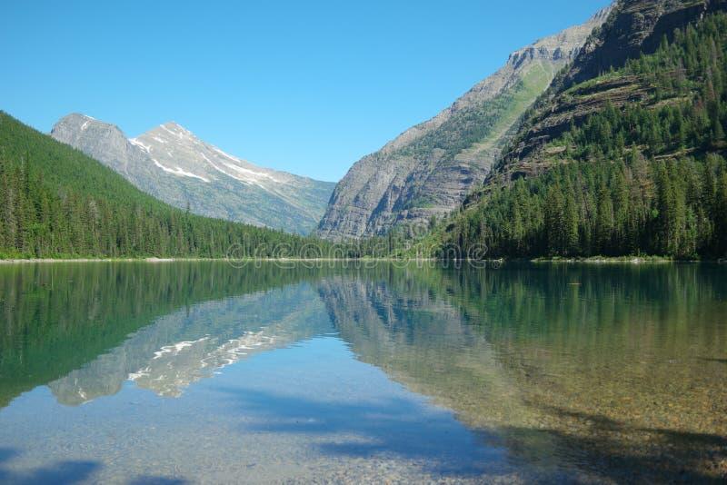 Озеро лавин стоковое фото rf