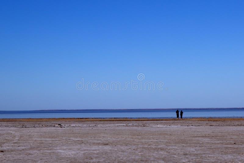 озеро Австралии центральное eyre стоковые изображения rf