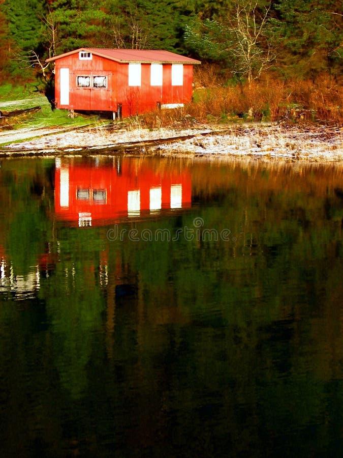 озеро Аляски стоковые изображения rf