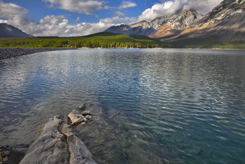 озеро банка малое стоковое фото rf