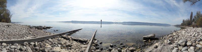 Озеро безмолвия стоковые фото