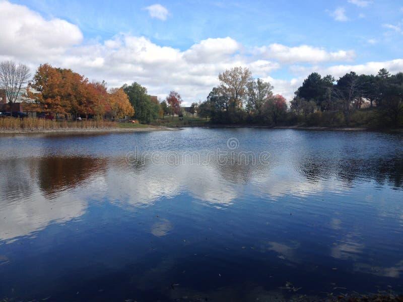 Озеро бога стоковое изображение rf