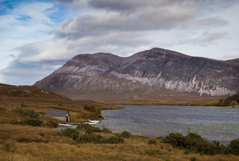 Озеро больше Шотландии стоковая фотография