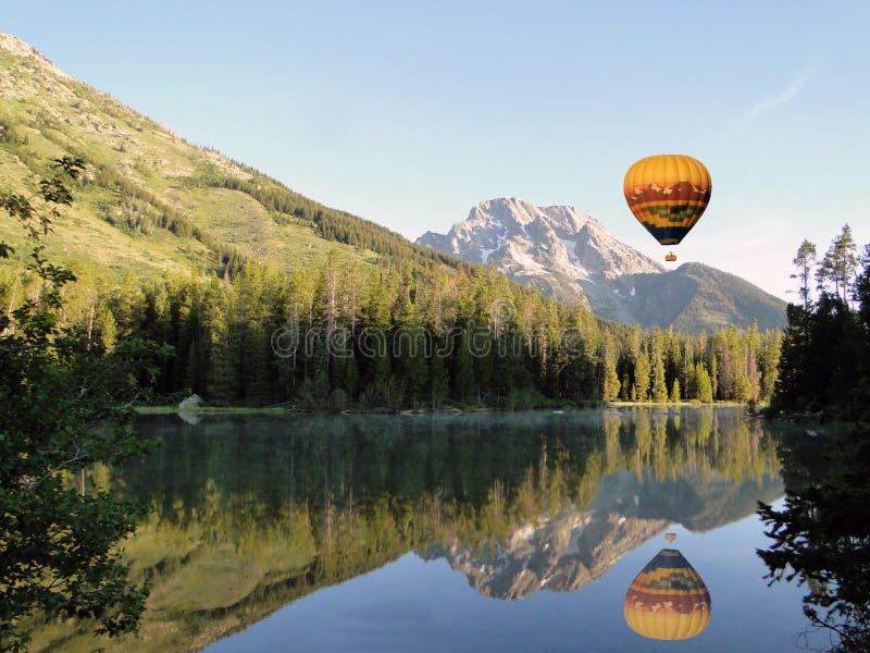 озеро воздушного шара горячее сверх стоковые фотографии rf