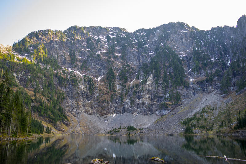 Озеро 22 в Вашингтоне стоковые фотографии rf