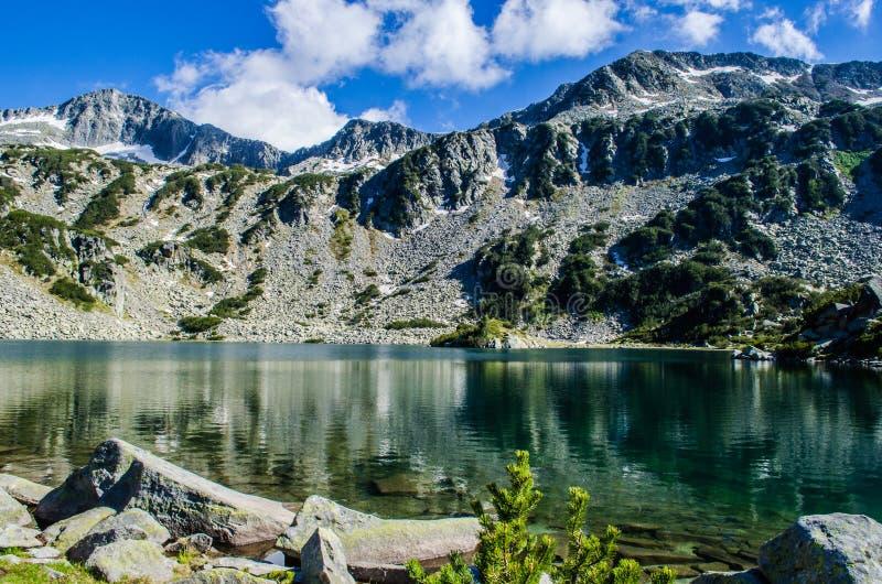 Озеро в Pirin стоковое изображение
