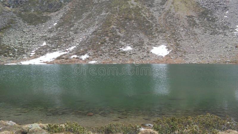 Озеро гор около Инсбрука стоковое фото