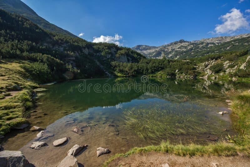 Озеро глаз, гора Pirin стоковое фото rf