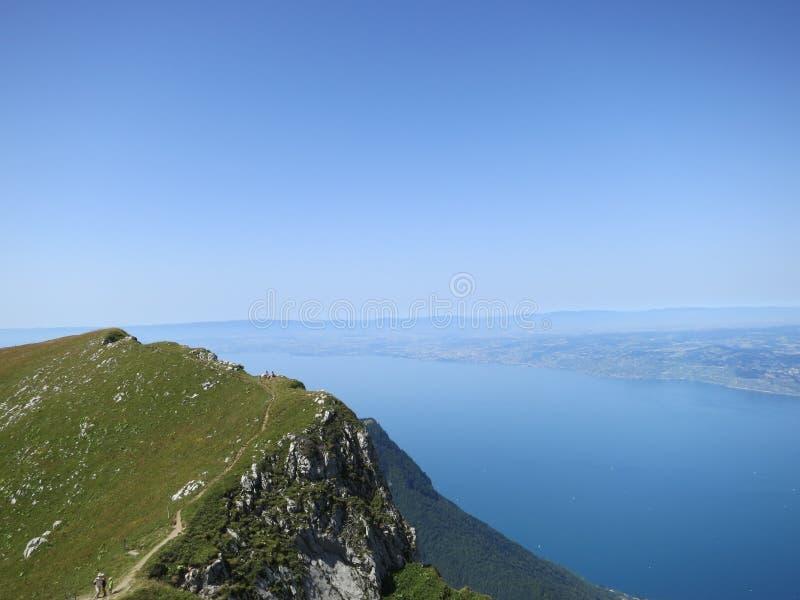Озеро Женева, Швейцария стоковая фотография