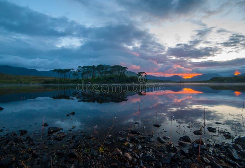 Озеро Ирландия стоковое изображение