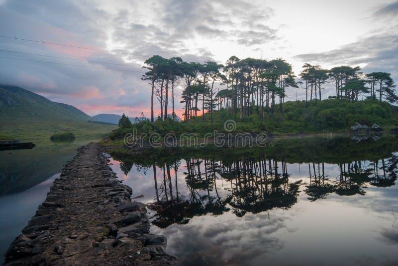 Озеро Ирландия стоковая фотография rf
