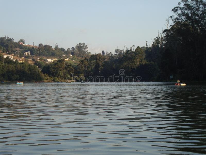 Озеро и реки стоковое фото