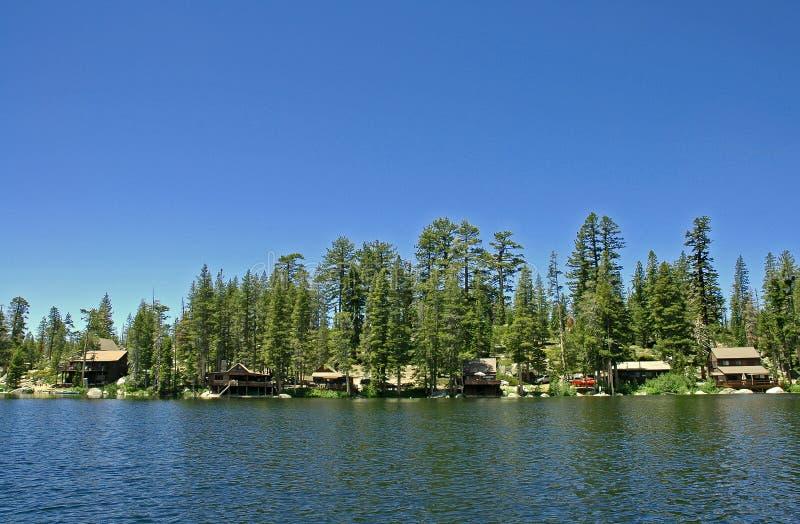 озеро кабин стоковое фото