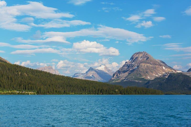 озеро Канады смычка alberta banff обнаружило местонахождение национальный парк стоковое изображение
