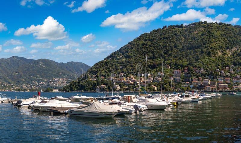Озеро Комо в Италии стоковая фотография