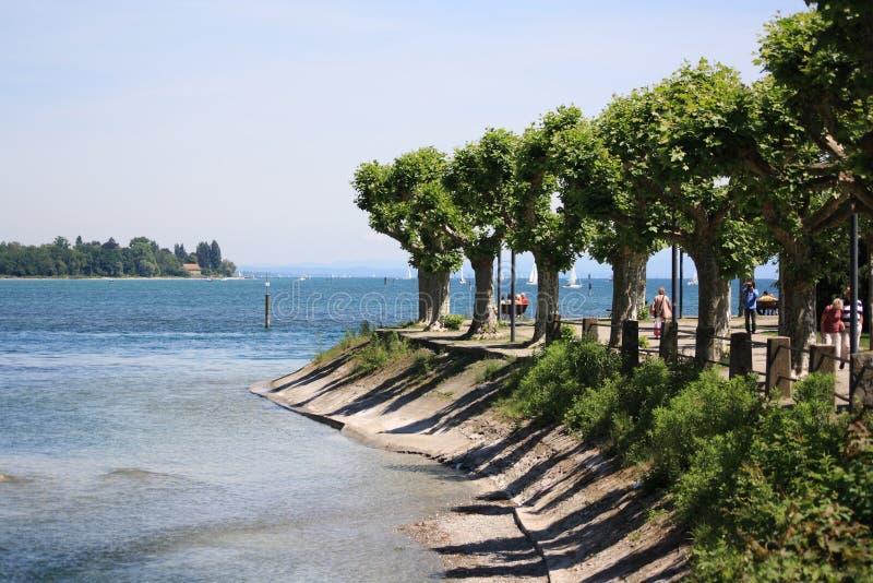 Озеро Констанции стоковая фотография